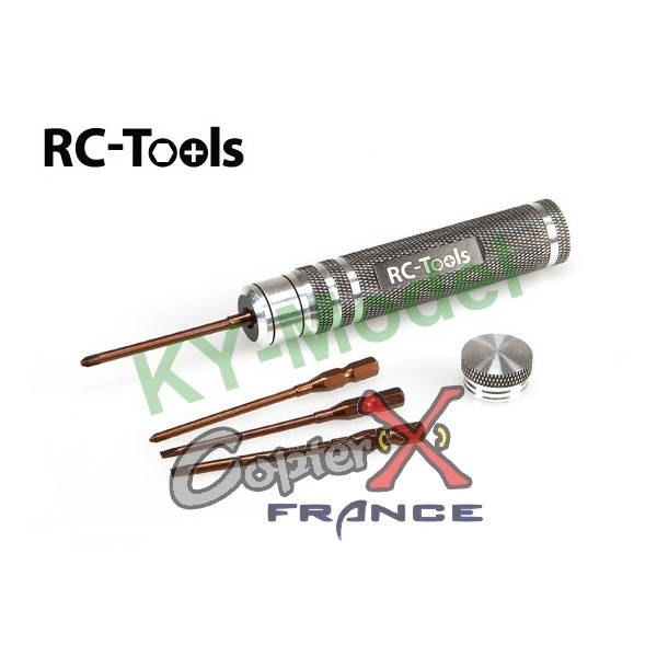 RCT-IS001 - Slotted and Philips Screwdriver with Interchangable Tips